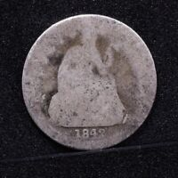 1842 SEATED LIBERTY DIME - POOR 29174
