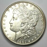 1901 MORGAN SILVER DOLLAR $1 1901-P - EXCELLENT CONDITION -  LUSTER
