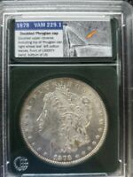 1878 REVERSE OF 1879 VAM 229.1 MORGAN SILVER DOLLAR SHIPS FREE