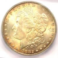 1882 MORGAN SILVER DOLLAR $1 COIN 1882-P. ICG MINT STATE 66 -  IN MINT STATE 66 - $1250 VALUE