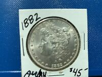 1882   MORGAN SILVER DOLLAR -   AU/BU COIN