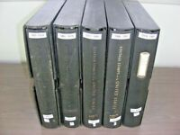 US WONDERFUL MINT STAMP COLLECTION MOUNTED IN A 5 VOLUME WHI
