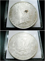 1882 P MORGAN SILVER DOLLAR CHOICE UNC BU COIN