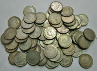 LONG ROLL  67 COINS  OF CIRCULATED CANADIAN SILVER DIMES  19