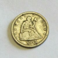 1875 S 20 CENT PIECE SEATED