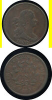 1806 DRAPED BUST HALF CENT   HIGH GRADE  ROTATED REVERSE