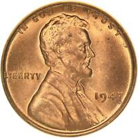 1947 LINCOLN WHEAT CENT BU PENNY US COIN