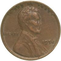 1952 LINCOLN WHEAT CENT EXTRA FINE PENNY EXTRA FINE