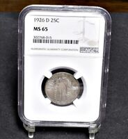 1926-D STANDING LIBERTY QUARTER - NGC MINT STATE 65 29853