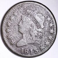 1813 CLASSIC HEAD LARGE CENT CHOICE SHIPS FREE E113 KLT