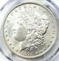 1894 MORGAN SILVER DOLLAR $1 1894-P KEY DATE - PCGS AU DETAIL - NEAR MS / UNC