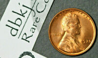 1935 P - LINCOLN WHEAT 1 CENT PENNY - GEM RED UNCIRCULATED