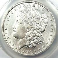 1894 MORGAN SILVER DOLLAR $1 COIN 1894-P. CERTIFIED ANACS AU50 -  KEY DATE