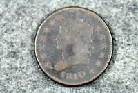 ESTATE FIND 1810 - CLASSIC HEAD LARGE CENT J04658