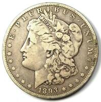 1893-O MORGAN SILVER DOLLAR $1 - VF DETAILS -  DATE NEW ORLEANS COIN