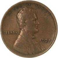 1921 LINCOLN WHEAT CENT FINE PENNY FN