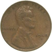 1948 S LINCOLN WHEAT CENT EXTRA FINE PENNY EXTRA FINE