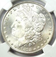 1878-S MORGAN SILVER DOLLAR $1 COIN - NGC MINT STATE 66 PLUS GRADE - $1,600 VALUE