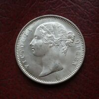 INDIA 1840WW INCUSE SILVER  RUPEE