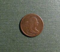 1806 HALF CENT   CHOICE BROWN FINE