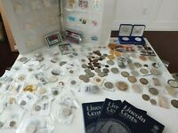 ESTATE COLLECTION OF COINS STAMPS AND BASEBALL CARDS