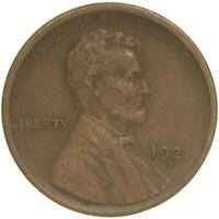 1921 S LINCOLN WHEAT CENT PENNY EXTRA FINE