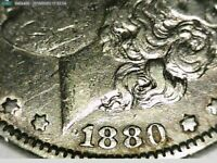 1880 O 8/7 TOP 100 VAM 6C SPIKE AND CLASHED MORGAN SILVER DOLLAR SHIPS FREE