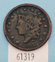WEST POINT COINS  1837 LARGE CENT