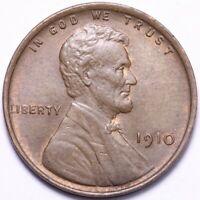 1910 LINCOLN WHEAT SMALL CENT PENNY CHOICE BU SHIPS FREE E674 ACE