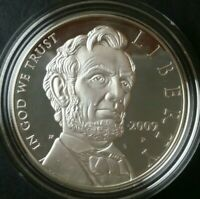 2009 P PROOF $1 LINCOLN COMMEMORATIVE SILVER DOLLAR