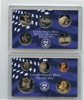 2007 U.S.MINT SILVER PROOF SET W/PRESIDENTIAL $1 COINS 14 CO