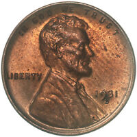 1931 S LINCOLN WHEAT CENT UNCIRCULATED PENNY US COIN SEE PICS E124