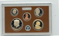 2015 U.S.MINT SILVER PROOF SET W/PRESIDENTIAL $1 COINS 14 CO