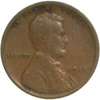 1918 LINCOLN WHEAT CENT  GOOD PENNY VG