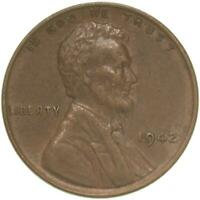 1942 LINCOLN WHEAT CENT EXTRA FINE PENNY EXTRA FINE