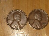 US 1932 AND 1933 LINCOLN SMALL CENT COIN LOT  BETTER DATES