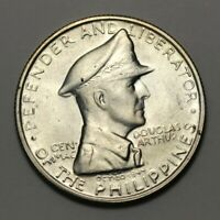 1947 S PHILIPPINES SILVER ONE PESO COIN 90514JR
