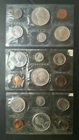 1965 1966 AND 1967 CANADA PROOFLIKE SETS OF COINS