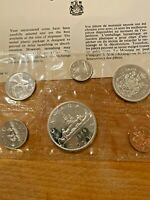 1966 CANADIAN SILVER DOLLAR IN PROOF SET FROM ROYAL CANADIAN