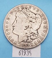 WEST POINT COINS  1893 MORGAN SILVER DOLLAR