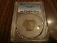 1909-S LINCOLN WHEAT CENT PCGS VG-10