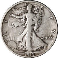1918-S WALKING LIBERTY HALF GREAT DEALS FROM THE EXECUTIVE COIN COMPANY