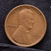1909-S LINCOLN WHEAT CENT - VF 30926