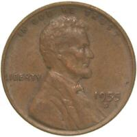 1955 D LINCOLN WHEAT CENT EXTRA FINE PENNY EXTRA FINE