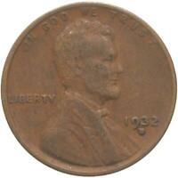 1932 D LINCOLN WHEAT CENT FINE PENNY FN