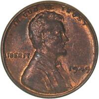 1949 LINCOLN WHEAT CENT UNCIRCULATED PENNY US COIN