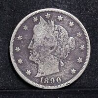 1890 LIBERTY NICKEL - VG DETAILS 31034