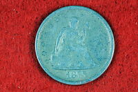 ESTATE  FIND 1875    S  SEATED LIBERTY TWENTY CENT PIECE   G