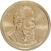 2011 D PRESIDENTIAL DOLLAR RUTHERFORD B HAYES BU CLAD US COIN