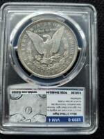 1899 O MICRO O TILTED SLIGHTLY RIGHT DOUBLED LEAVES TOP 100 VAM MORGAN DOLLAR